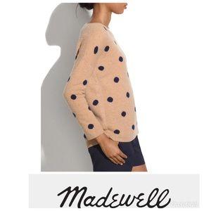 Madewell Poka dot Sweater